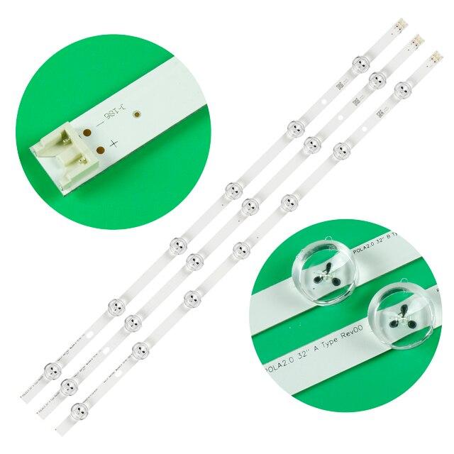 5 zestaw = 15 sztuk listwa oświetleniowa LED do telewizora LG POLA 2.0 POLA2.0 32 HC320DXN VSFP4 21XX 32LN5100 32LN545B 32LN5180 32LN550B 32LN536U
