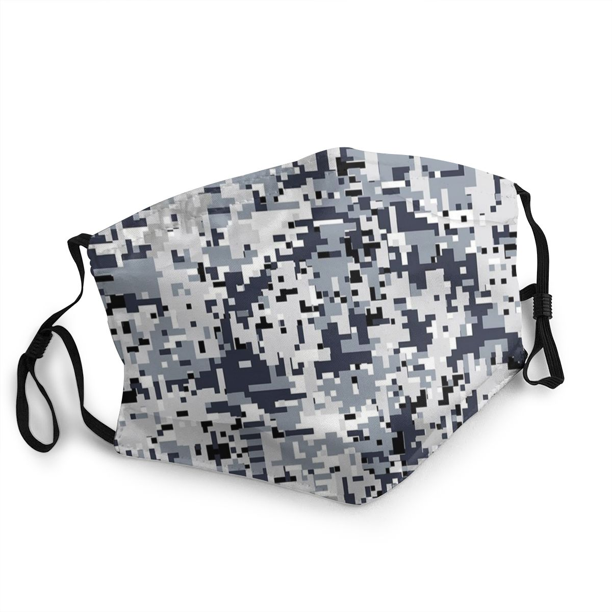 Urban Digital Army Camouflage Adult Reusable Mouth Face Mask Anti Bacterial Dustproof Protection Cover Respirator