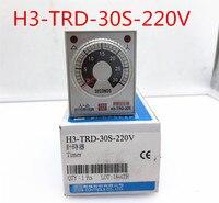 H3-TRD-30S-110V H3-TRD-30S-220V H3-TRD-30S H3-TRD-60S-220V Original Novo Relé de Tempo