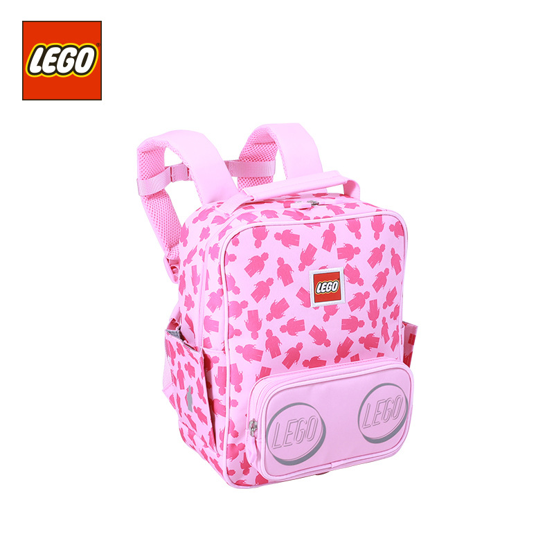 Lego LEGO New Style CHILDREN'S School Bags Casual Backpack GIRL'S And BOY'S 312-Year-Old Young STUDENT'S Backpack 20133