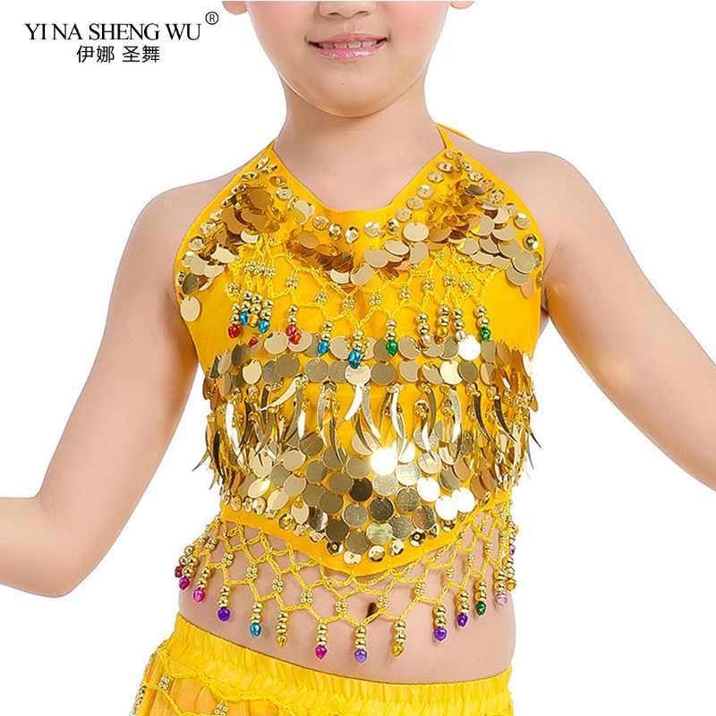 Girls Bellydance Oriental Costumes Children Belly Dance Costume Top 2 Style Grils <font><b>Indian</b></font> <font><b>Sari</b></font> Clothing bollywood for <font><b>kids</b></font> image