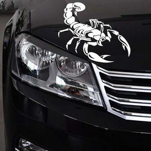 Image 2 - Sliverysea 28 cm * 16 cm 자동차 스타일링 재미 있은 전갈 pvc 비닐 자동차 스티커 및 데칼