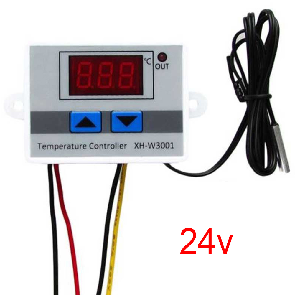 XH-W3001 10A Digital Temperature Controller 12V, 24V, 220V Quality Thermal Regulator Thermocouple Thermostat With LCD Display