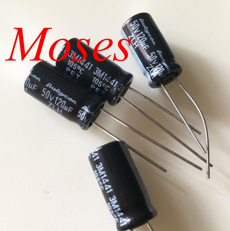 100pcs 50V 1uF 50V SAMXON GS 5x11mm Aluminum Electrolytic capacitor