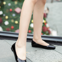 Flat-Shoes Large-Size Concise-Design Women Footwear Spring Round-Toe Fashion Summer MILI-MIYA