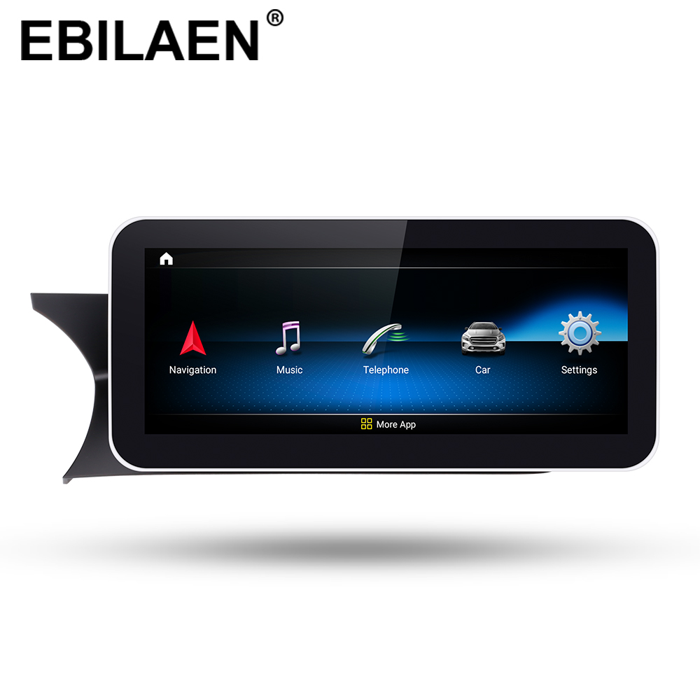 Car DVD Multimedia Player for <font><b>Mercedes</b></font> Benz C Class <font><b>W204</b></font> S204 2011-2013 2Din <font><b>Android</b></font> 9.0 Car <font><b>Autoradio</b></font> Navigation Cassette GPS image