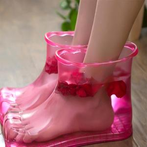 Portable Foot Bath Massage Shoes Feet Relaxation Slipper Acupoint Health Care Suitable for foot bath, relieve feet pain