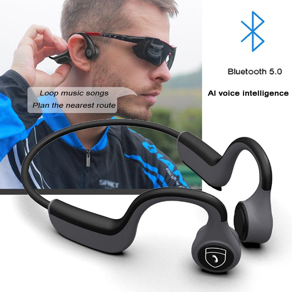 Z8 Pro костная проводимость Bluetooth гарнитура Bluetooth 5,0 беспроводная уличная спортивная Гарнитура стерео костная проводимость Bluetooth гарнитура