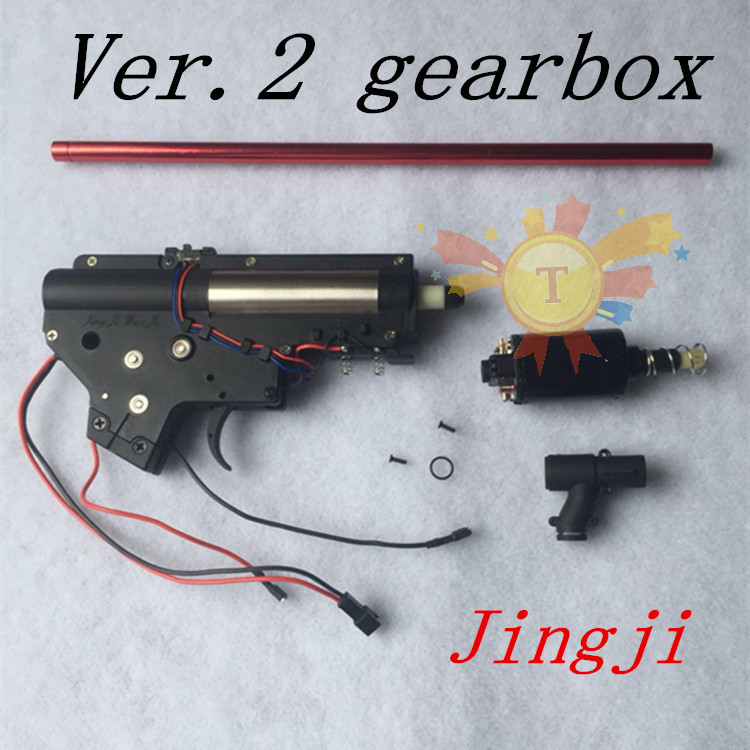 Jin Ming M4A1-J9 Gel Blaster Gun Gearbox Motor Water Toy Guns Outdoor Toys For Children
