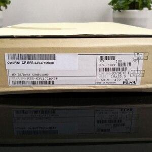 Image 4 - 2PCS תאילנד החדש ELNA RFS SILMIC השני 63V470UF 18X35MM SILMICII 470UF 63V מכירה לוהטת 470 uf/63 v RFS 63V471MK8