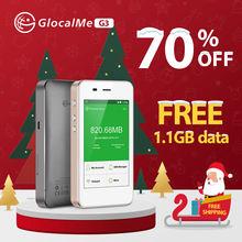 Glocalme 4g wifi роутер Бесплатная роуминг Быстрая сеть Портативная