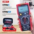True RMS цифровой мультиметр UNI-T UT89X; AC DC Напряжение измеритель тока; Емкость сопротивление температура тестер; NCV/Live провода тест