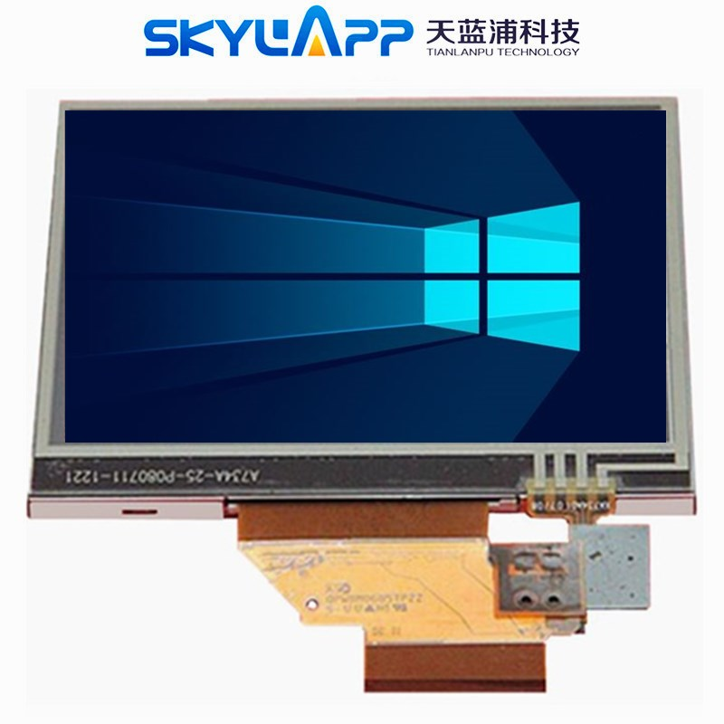 Original 3.5 inch LCD screen for Garmin nuvi 255T 260 275 1200 500 510 215 display Screen with Touch screen digitizer(China)
