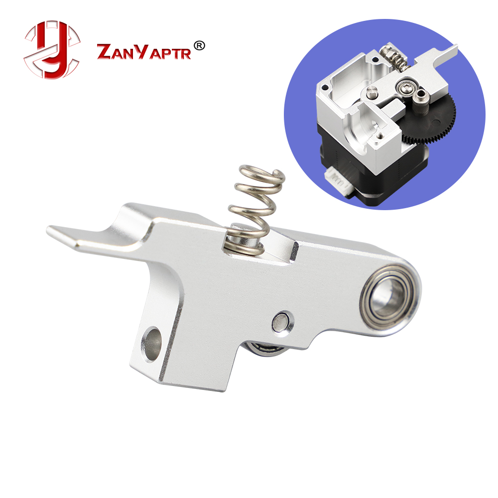 1.75mm Silver Titan Aero Extruder Idler Arm For All Metal Titan Aero Extruder Prusa I3 MK2 MK3
