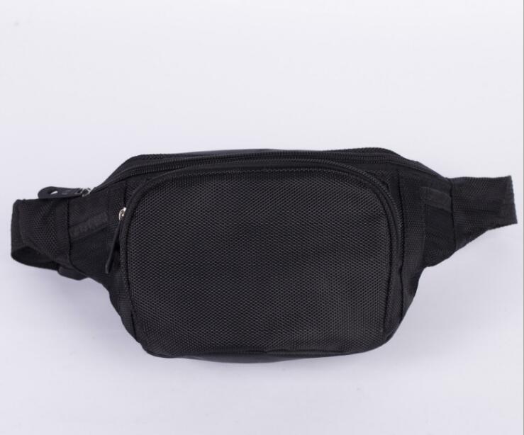 BB430    Womens Waist Bag Fanny Pack PU Bag Belt Purse Small Purse Phone Key Pouch White Black Waist Packs