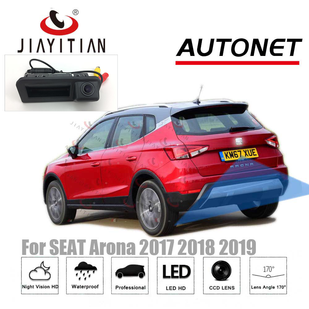 JIAYITIAN Rear View Camera For SEAT Arona 2017 2018 2019 Original Factory Style Instead of Original Factory Trunk Handle Camera