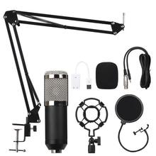 B.BMIC Bm800 конденсаторный микрофон Запись звука Bm 800 микрофон Ktv караоке микрофон набор микрофон с подставкой для компьютера
