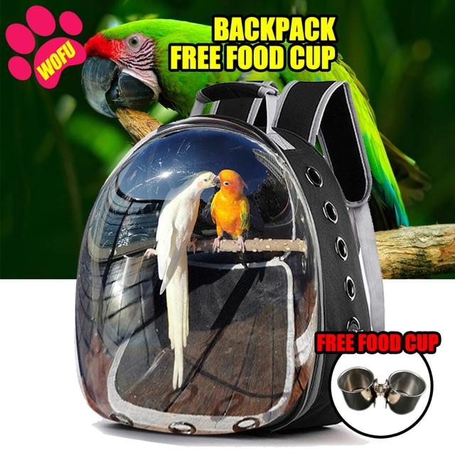 Breathable Parrot Travel Bag  1