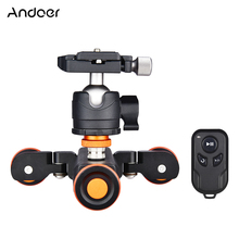 Andoer L4 PRO Motorized Camera Video Dolly Electric Track Slider Wireless Remote Control