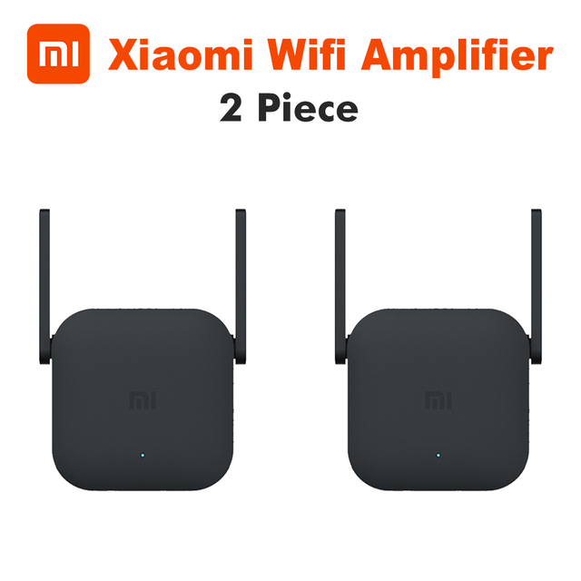 Xiaomi Mijia WiFi Repeater Pro 300M Mi Amplifier Network Expander Router Power Extender Roteador 2 Antenna for Router Wi-Fi 2.4G