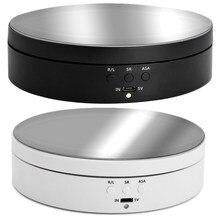 Soporte de pantalla giratorio para fotografía, dispositivo eléctrico rotatorio de 360 grados, ajustable, para Grabación de Vídeo