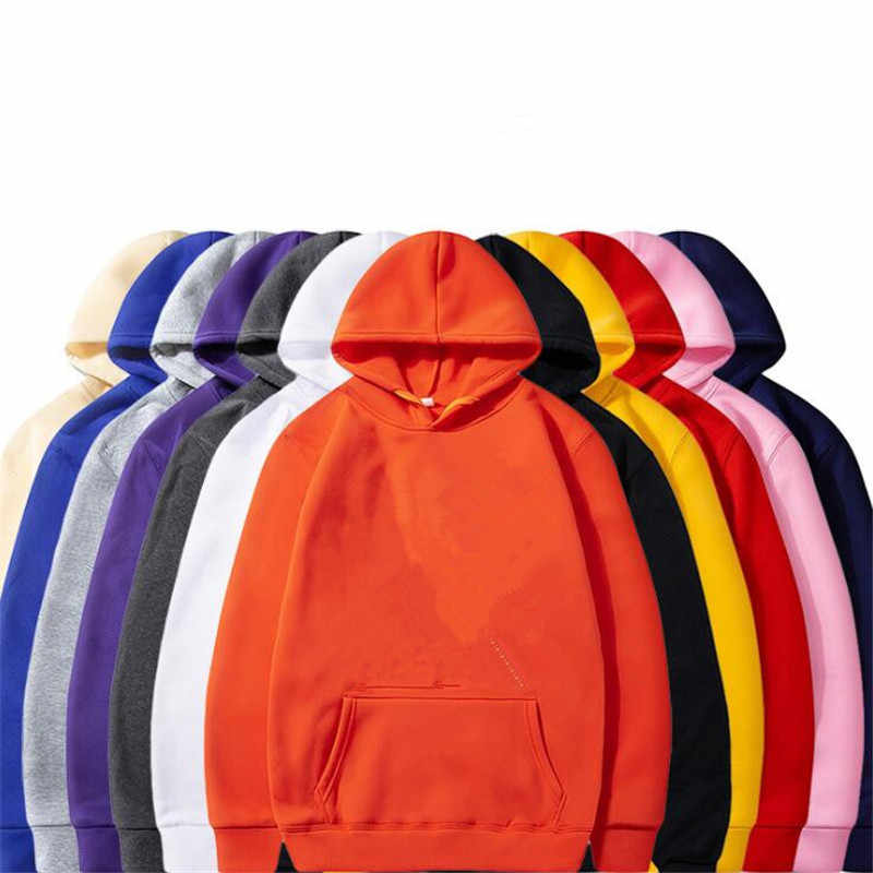 Nansha Fashion Brand Mannen Truien 2019 Lente Herfst Man Casual Hoodies Sweatshirts Mannen Effen Kleur Hoodies Sweatshirt Tops