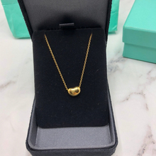SHINETUNG S925 Sterling Silver fashion exquisite little cute pea necklace 1: 1 high-end womens jewelry with logo