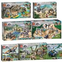 New World Dinosaur Set 11335 11336 11337 Gyrosaurus e pterosauro senza denti escape Building Blocks mattoni giocattoli regalo per bambini