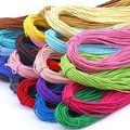Цветная высокоэластичная круглая эластичная повязка на голову 10 м, 2 мм, веревка для масок, круглый резиновый шнур, лента на талию, маска, вер...