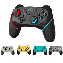 اللاسلكية دعم بلوتوث غمبد ل نينتندو سويتش برو NS لعبة فيديو USB جهاز التحكم في عصا التحكم ل التبديل وحدة التحكم مع 6 محور