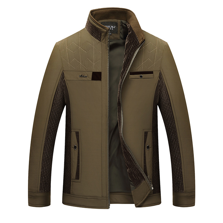 The New 2020 Men's Splicing Thin Jacket Spring Collar Leisure Jacket