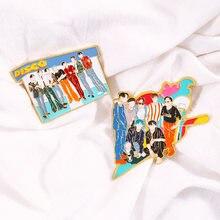 Kpop bangtan boys новый альбом динамита булавки для лацканов