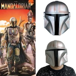 Image 1 - 2019 את Mandalorian Boba פט מסכת קסדת קוספליי מלחמת כוכבים מלא פנים PVC קסדת ליל כל הקדושים אבזרי העלייה של סקייווקר