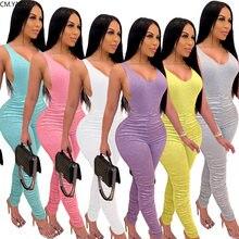CM.YAYA Sport zestaw damski dwa kawałki zestawy dresy podkoszulki ołówek ułożone spodnie dresowe dla joggerów garnitur Fitness stroje pasujący zestaw