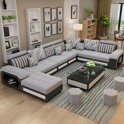 Nowy nowoczesny  prosty  odpinany i zmywalny salon w kształcie litery U  ekonomiczne  duże i małe meble rodzinne w Sofy do salonu od Meble na