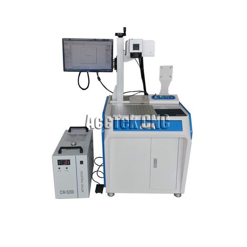 Laser Marker 3W 5W 10W UV Fiber Laser Marking Machine For Precision Effective Marking