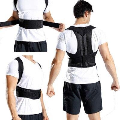 Adjustable Back Posture Corrector Spine Back Shoulder  Clavicle Lumbar  Support Belt Posture Corre Bracection Prevents Slouching