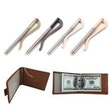 Металлический двойной зажим для денег кошелек запасные части