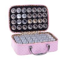 56 Bottles Of Diamond Painting Box Toolbox Storage Box Luggage Bracket Handbag Zipper Design Shockproof And Durable Gift
