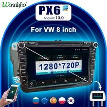 PX6 2 DIN Android 10 car radio For Seat Altea Leon Volkswagen VW Passat b6 POLO golf 5 6 touran CC 2din autoradio stereo audio