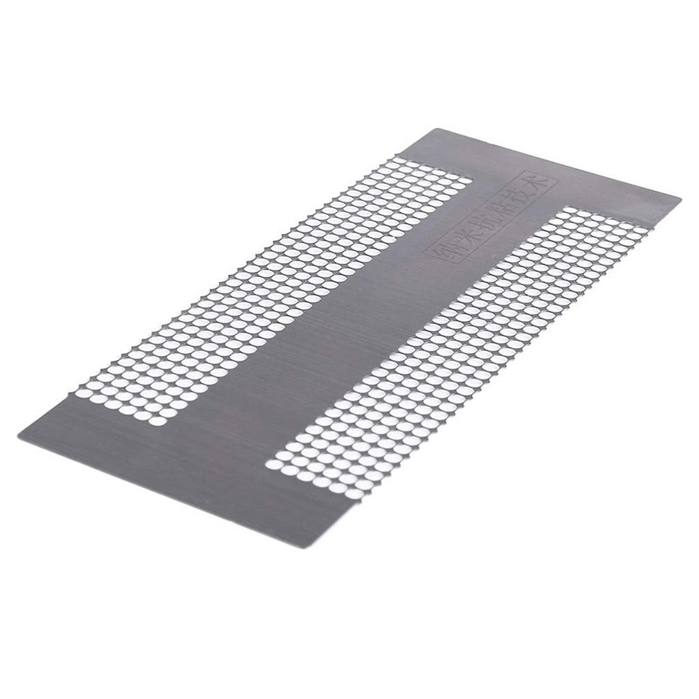 DIY Diamond Painting Point Drill Steel Ruler Marking Tool Net Ruler Hand Diamond Embroidery Stainless Steel Ruler 2019 Dropship