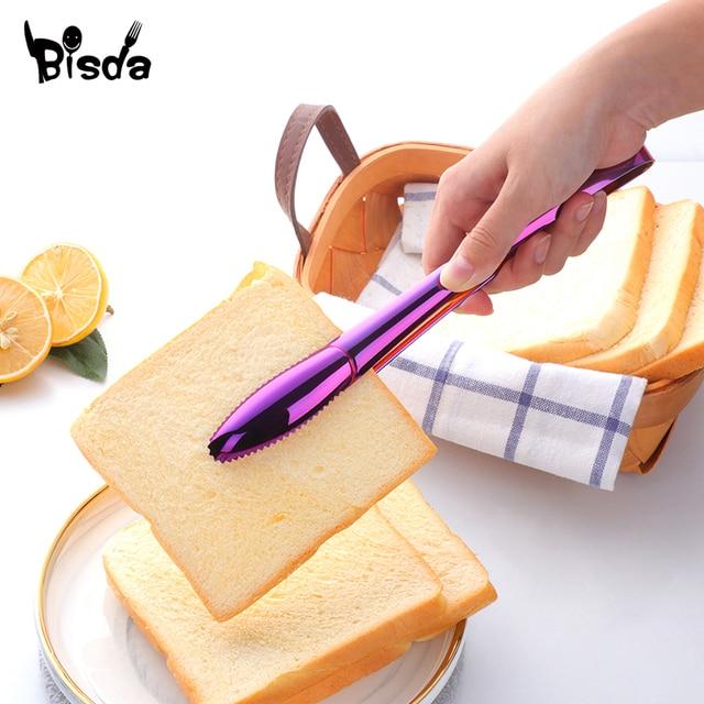 1 pièces nouvelle pince à salade Design pince à pain glace 18/8 acier inoxydable gril accessoire pinces à viande service alimentaire ustensile OEM Logo