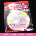 Розовый шар Bobo прозрачный круглый шар BOBO 5/18/20/24 дюймов гелиевый шар может поплавать на воздухе день рождения, товары для свадебной вечеринки