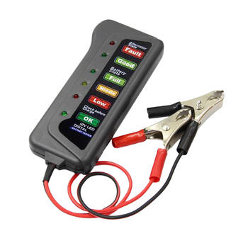 Universal 12V Car Battery Load Tester Digital Analyzer Auto LED Motor Battery Tester image
