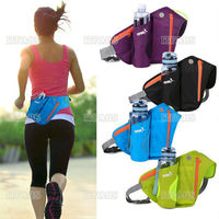 2021 neue 4 Farben Frauen Männer Laufschuhe Gürtel Taschen Jogging Radfahren Taille Pack Sport Runner Tasche Wasser Flasche Halter