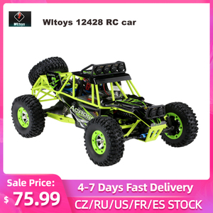 2.4G 4WD Wltoys 12428 1/12 RC Car 4wd Electric Brushed Racing Crawler RTR High Speed RC Off-road Vehicle Car Remote Control Car(China)