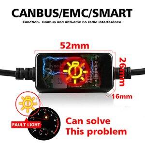 Image 3 - HLXG CANBUS h7 ha condotto il Mini H4 12V lampada 9005 HB3 9006 HB4 lampada 12000LM Luce del Faro Dellautomobile di H11 H1 h8 H9 6000K Lampadina