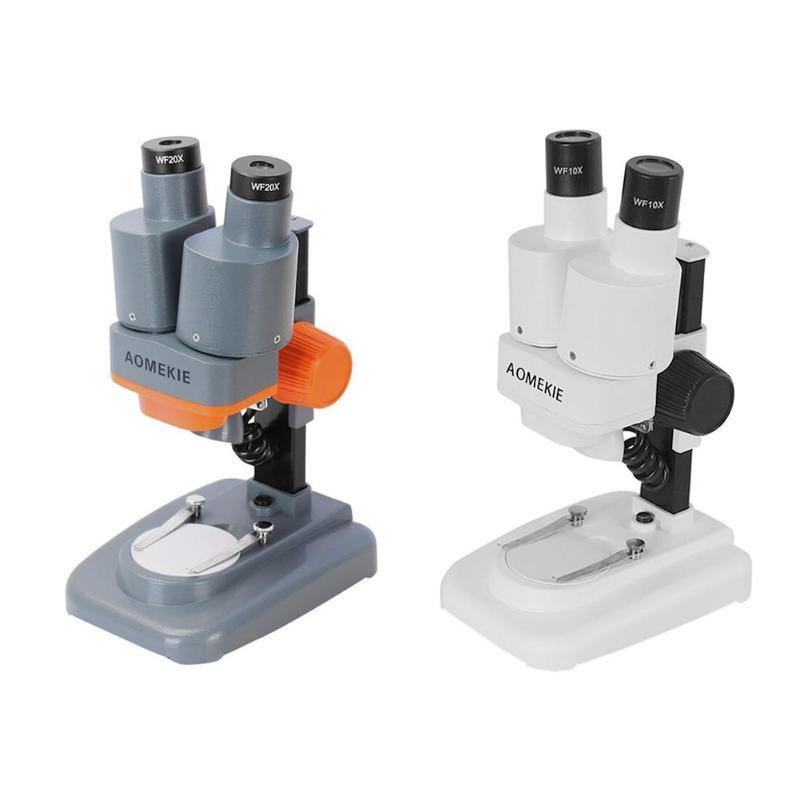 20X Microscopio estéreo Binocular con LED para PCB herramienta de soldadura teléfono móvil reparación diapositivas Mineral Microscopio de observación