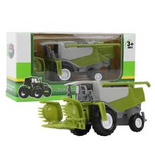 Car-Model Vehicle Tractors Agricultural-Harvester Farmer High-Simulation Gifts Alloy