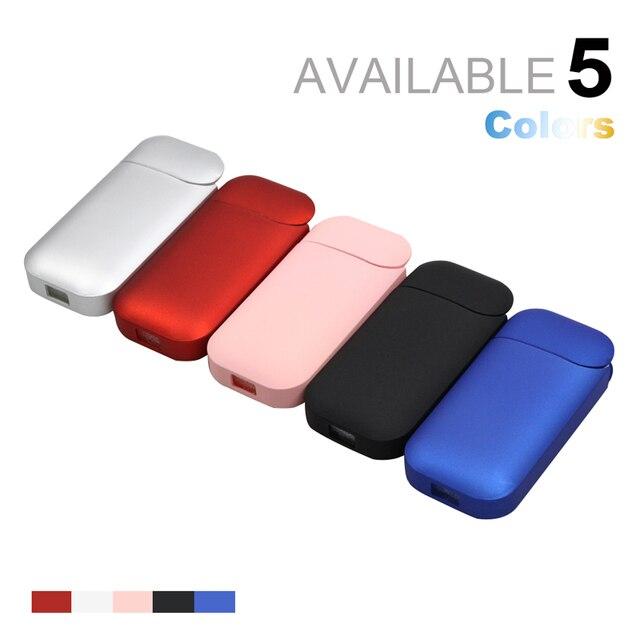 Moda cor preta caso para iqos para iqos 2.4 plus ii iii cigarro eletrônico para iqos capa protetora completa